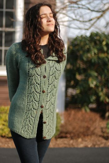 I love this sweater and the Fiber Company Road To China yarn it is knit in.