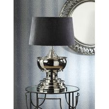 Barclay Butera lamp . . . and the table.