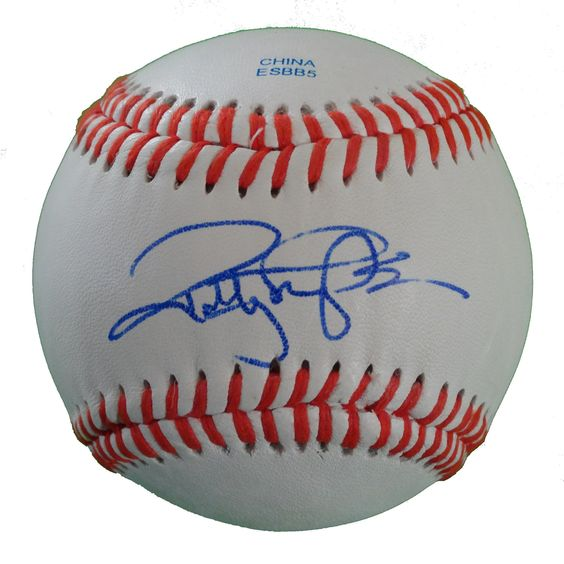 SF Giants Robby Thompson signed Rawlings ROLB leather baseball w/ proof photo.  Proof photo of Robby signing will be included with your purchase along with a COA issued from Southwestconnection-Memorabilia, guaranteeing the item to pass authentication services from PSA/DNA or JSA. Free USPS shipping. www.AutographedwithProof.com is your one stop for autographed collectibles from San Francisco Bay Area Sports teams. Check back with us often, as we are always obtaining new items.