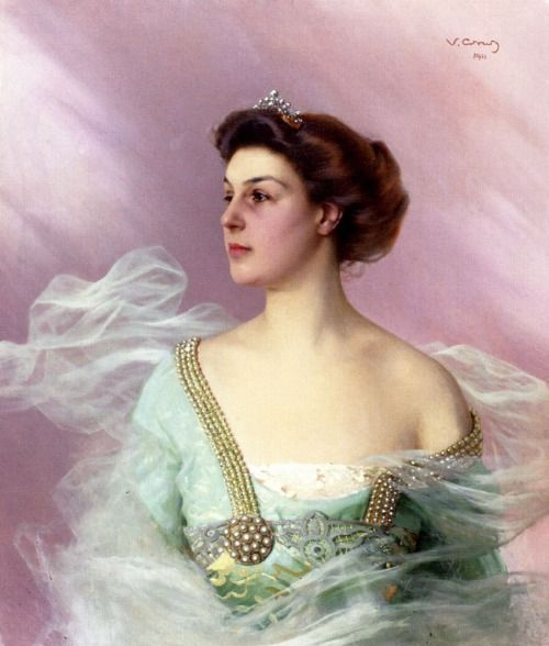Portrait of a Lady by Vittorio Matteo Corcos, 1911: