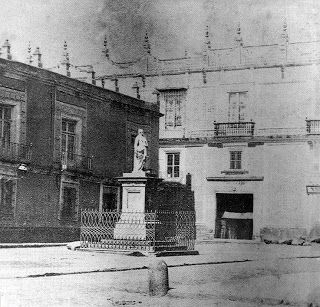 Imagen de 1866 a la izquierda la casa de los marqueses de - Azulejos del valle ...
