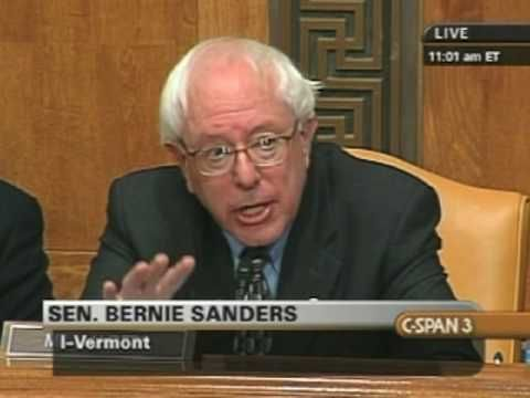 Great exchange senator bernie sanders can t contain himself during