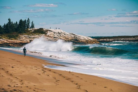 Reid State Park in Maine best for surfing!!! Also Kayak surfing! What are the best beaches in New England? - Magazine - The Boston Globe