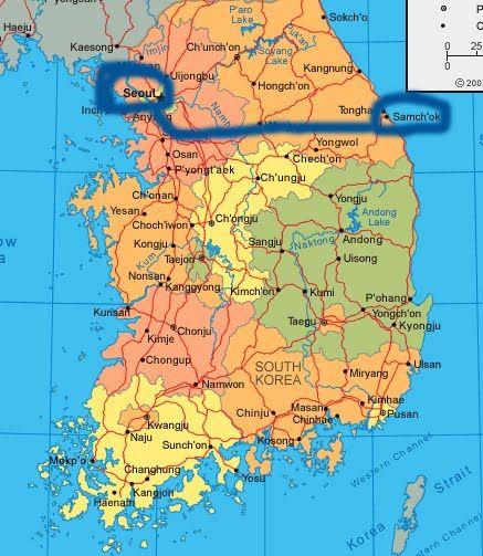 samcheok south korea - Google Search