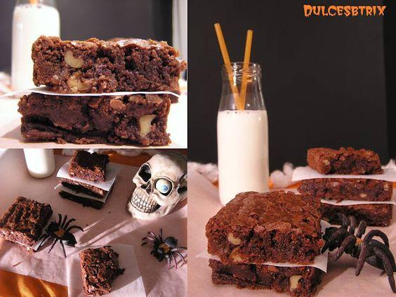 Arañas, Brownies y Halloween