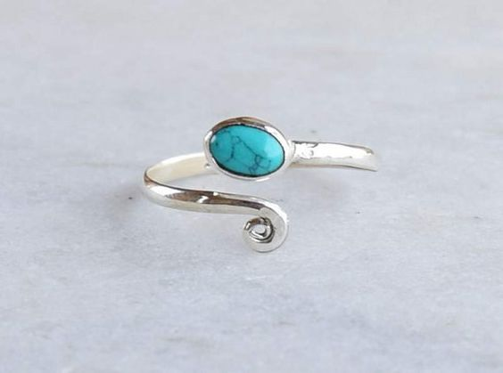 Hey, I found this really awesome Etsy listing at https://www.etsy.com/uk/listing/233215751/toe-ring-turquoise-toe-ring-silver-toe