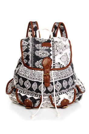 Cute Aztec Bohemian Backpack | ❧It's all about me❧ | Pinterest ...