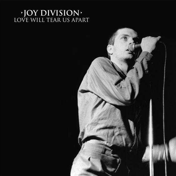 Joy Division – Love Will Tear Us Apart (single cover art)