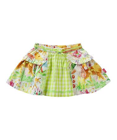 Take a look at this White Jungle Scooby Skirt - Infant, Toddler & Girls by Oilily on #zulily today!