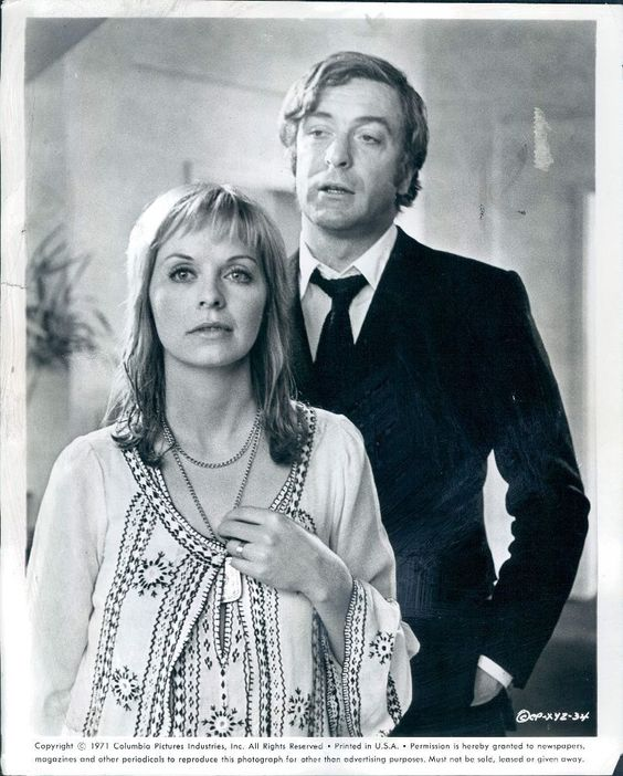 "Susannah York and Michael Cain ""Zee & Co"" also X,Y and Zee 1972"