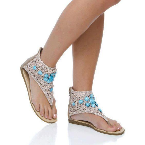 Indian sandals Blue <3