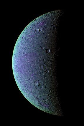 Traces of oxygen found on Saturn's moon Dione.