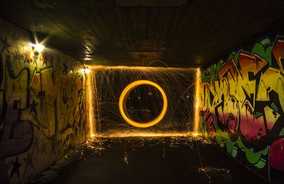 Steelwool Tunnel by Philip Mielow Olsen on 500px
