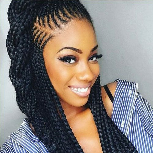 35 Best Black Braided Hairstyles For 2020 African Hairstyles African Braids African Hair Braiding Styles