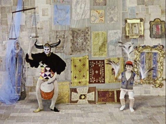The Color of Pomegranates by Sergei Parajanov.