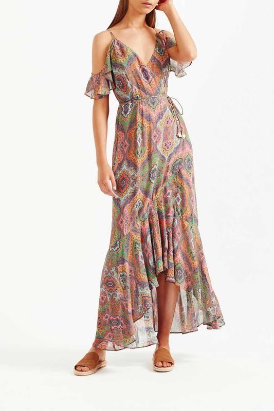 Tigerlily Delon Maxi Dress Multi Maxi Dress Tigerlily Dress Dresses