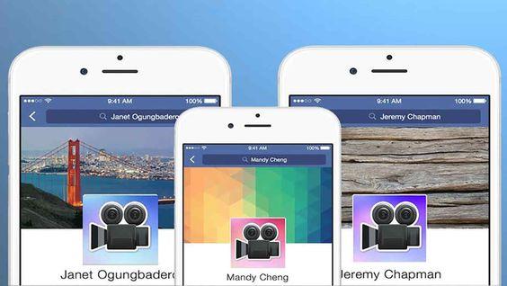 Facebook libera a opção de vídeos como foto do perfil