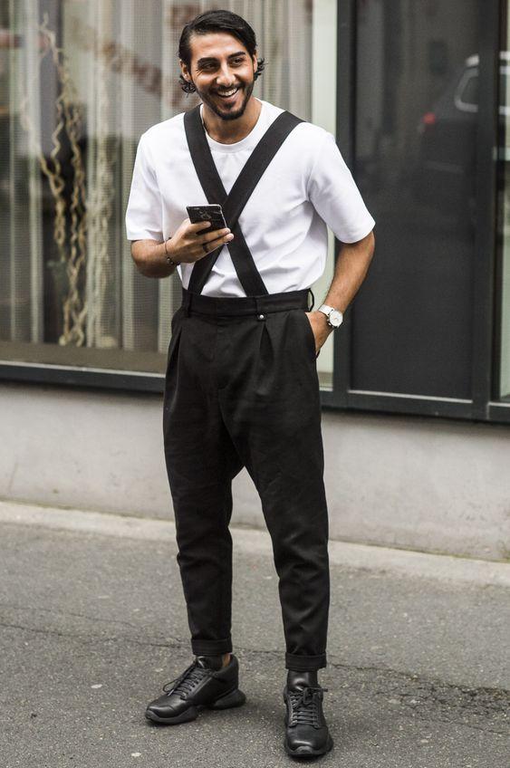白Tシャツ海外メンズコーデMax - Streetstyle in Oslo