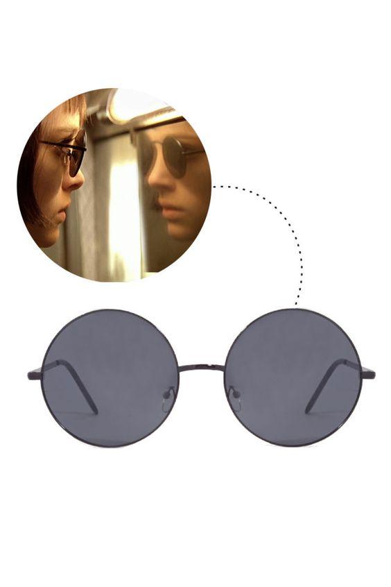 Forever 21 Oversized Round Sunglasses, $6; forever21.com   - ELLE.com