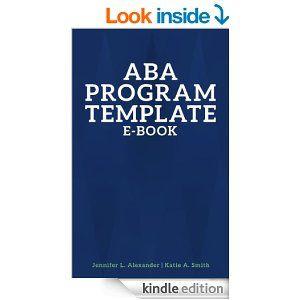 Program template assessment and the o 39 jays on pinterest for Aba program template