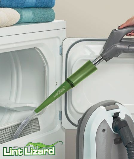 Lint Lizard™ Dryer Lint Vac Attachment | The Lakeside Collection