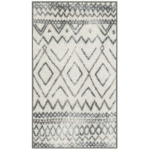 Limited Offer Maples Rugs Abstract Diamond Modern Distressed Kitchen Rugs Non Skid Accent Area Floor Mat 1 8 X 2 1 In 2020 Maples Rugs Rugs Moroccan Inspired Rugs