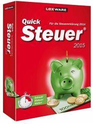 QuickSteuer 2015 (Version 21.00) - Steuererklärung 2014