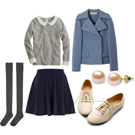 """""""Gwen Stacy Inspired"""" by jessicacansing on Polyvore"""