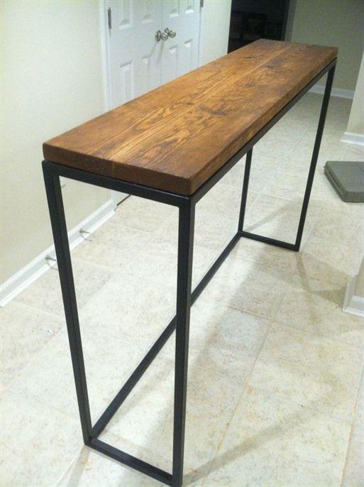 36 In Height Diy Counter Bar Table Google Search Diy Sofa Table Decor Home