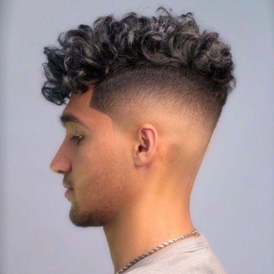 Curly Hair 1349 Menscurlyhair Menscurls Curlyhairmen Curlyhair Curly Curls Fade Barber Hai Curly Hair Fade Side Curly Hairstyles Highlights Curly Hair