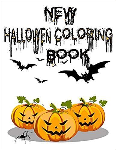 Free Ebooks For Halloween 2020 New Halloween Coloring Book: Here is The New Halloween Coloring