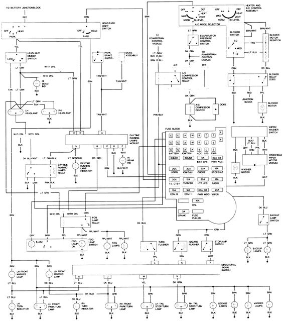 wiring diagram for 1994 jeep wrangler wiring image 1994 jeep wrangler wiring diagram auto zone 1994 auto wiring on wiring diagram for 1994 jeep