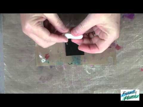 HOW TO CREATE BEADS WITH FRIENDLY PLASTIC - PART 2 - FAUX DICHROIC