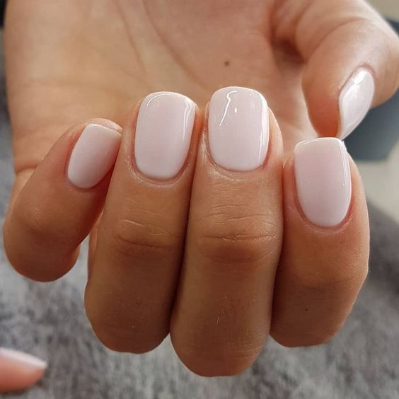 Simple White Nail Art Ideas 2020 In 2020 Dipped Nails Pretty Nail Colors Nails