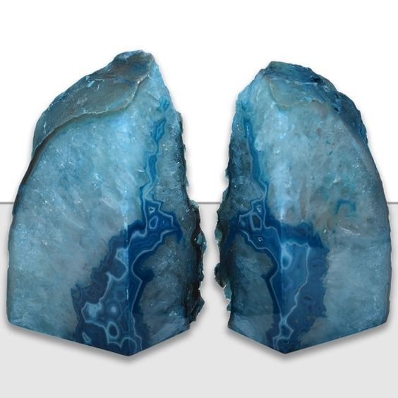 Home Decor Ideas To Enliven Your Homes Agate Bookends Bookends Mercer41