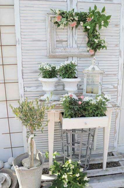 Au jardin   deco et jardin de charme   Pinterest   Messages ...