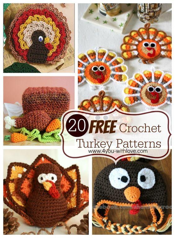 free crochet turkey patterns | Projects to Try | Pinterest | Crochet ...