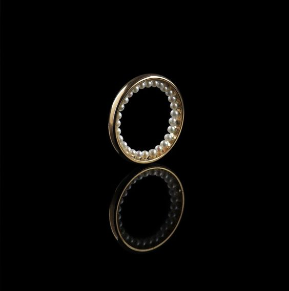 Moonset Ring by Bijules
