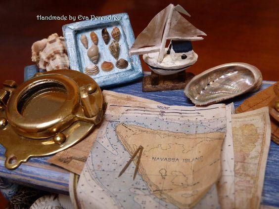 Mini Escenas, Miniaturas by Eva Perendreu: Naúticas-Nautical