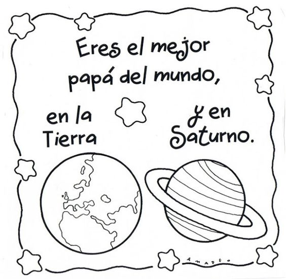 Día del Padre: Dibujos para el Día del Padre