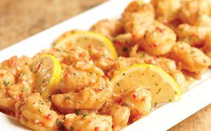 Shrimp spicy and lunches on pinterest for Olive garden shrimp scampi fritta