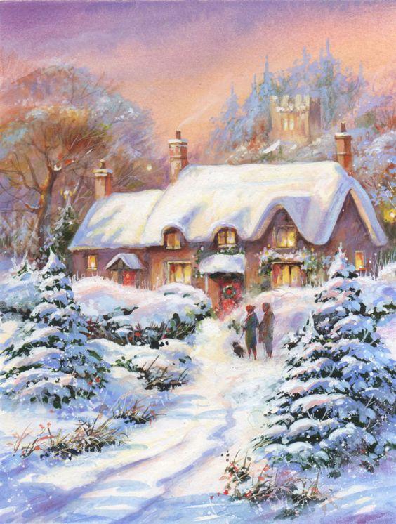 Jim  Mitchell - snowy lane1.jpg: