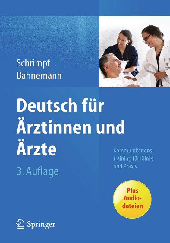 Deutsch für ärztinnen und ärzte 3 auflage
