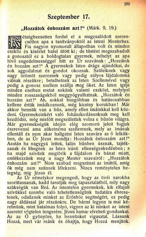 09.17. Spurgeon: Harmatgyöngyök...