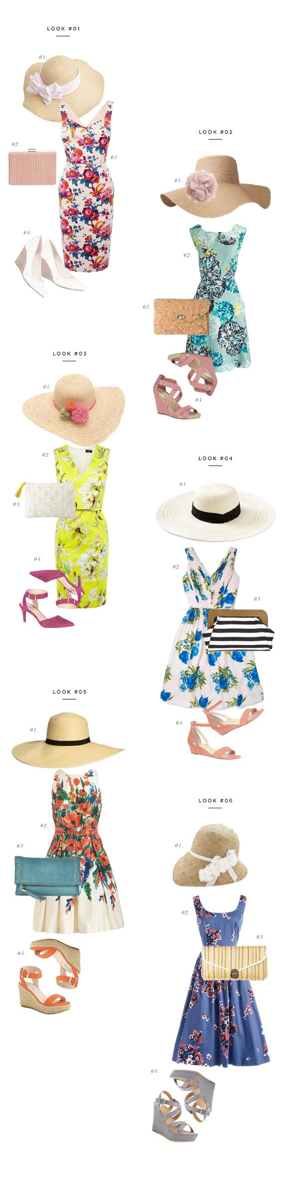 Easy, breezy Kentucky Derby outfit ideas and where to buy them! #VerilyStyle--love hats <3
