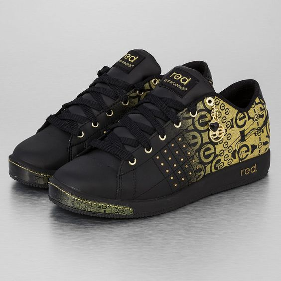 Ecko Red Phranz Phuse Sneakers Black/Gold | Shoes | Pinterest ...