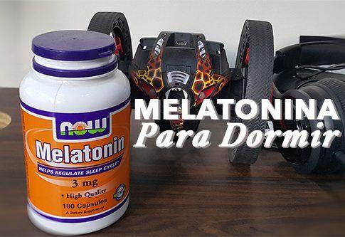 El melatonina como insomnio para tomar