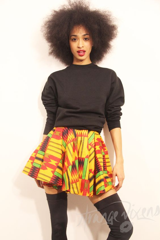 Ever watched A Different world? This skirt is so that TV show! -Strange Vixens