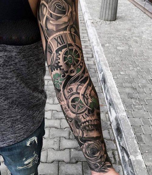125 Best Sleeve Tattoos For Men Cool Ideas Designs 2020 Guide Best Sleeve Tattoos Arm Tattoos For Guys Tattoos For Guys Badass