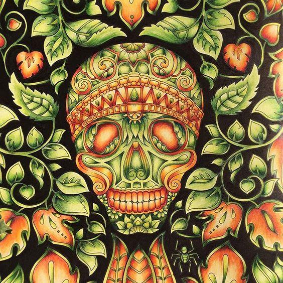 #johannabasford #magicaljungle #secretgarden #lostocean #enchantedforest #coloring #coloringbook #malen #malenfürerwachsene #fabercastell #polychromos #pittpastels #staedtler #staedtlerpencils